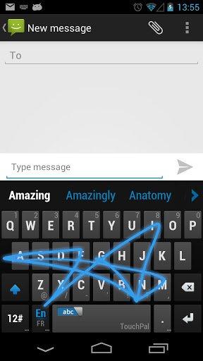 Touchpal, un clavier virtuel gratuit et complet sous android
